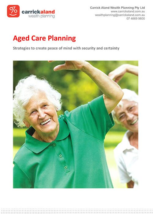Click to download a free copy of our Aged Care booklet to learn more.