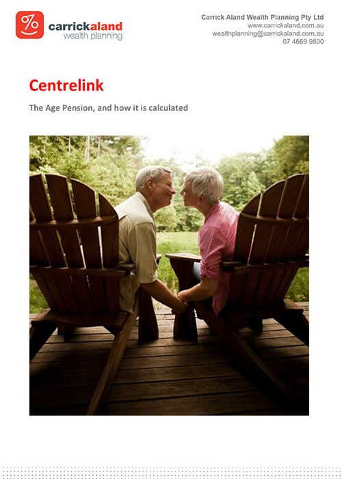 Click to download a free copy of our Centrelink flier to find out more.