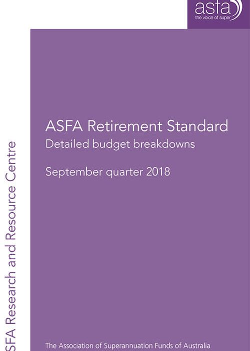 Click to download AFSA's 'Living in Retirement' report.