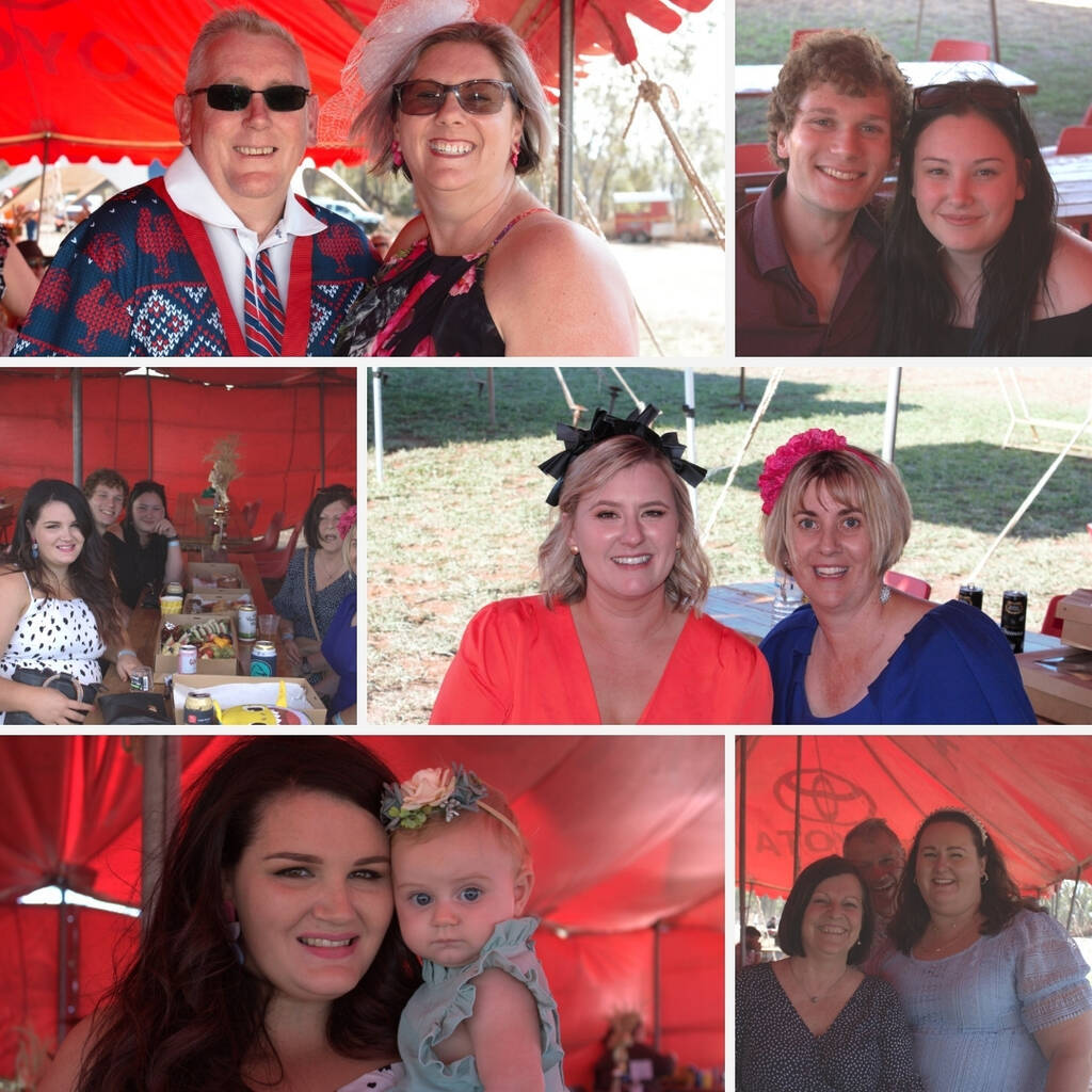 Carrick Aland's Christmas breakup at Warra Races